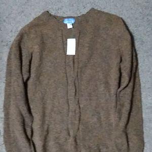 Laura Scott XL sweater. Brown color.